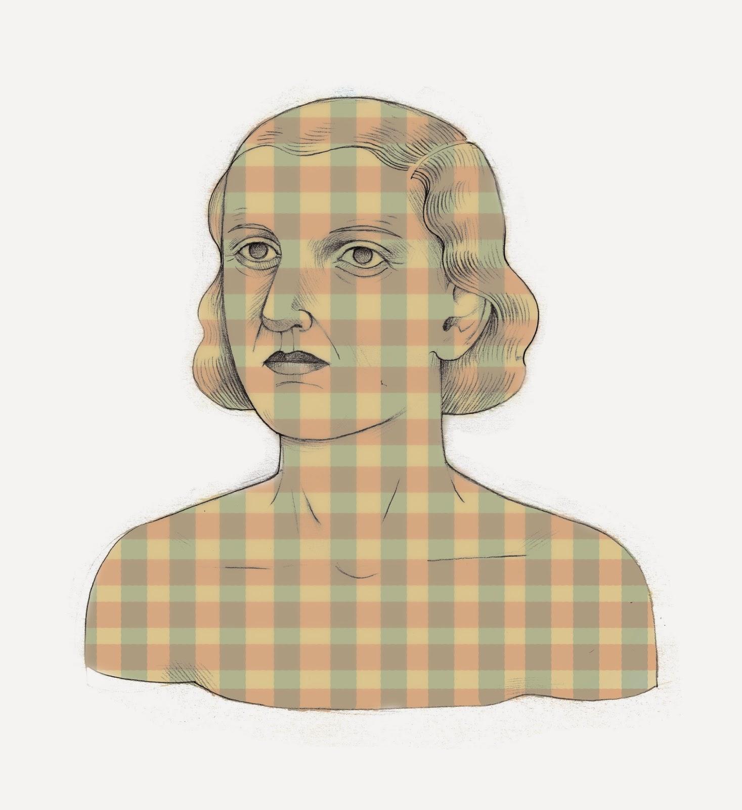 Plaid Woman