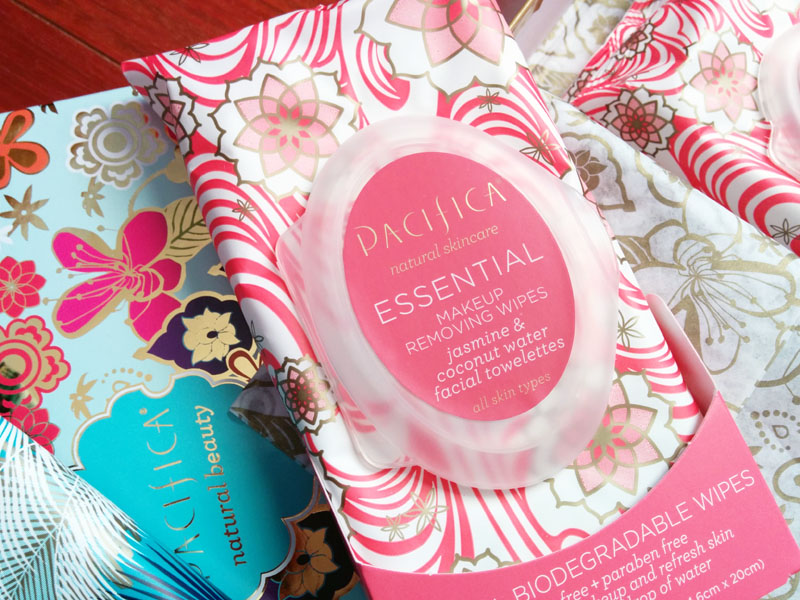 pacifica makeup removing wipes jasmine and coconut water