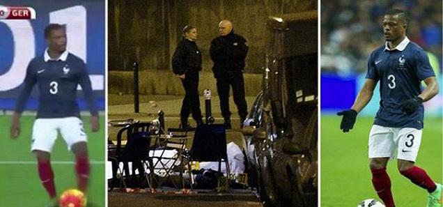 شاهد ماذا فعل باتريس ايفرا لحظة سماعه انفجارات باريس فوق أرضية ملعب فرنسا