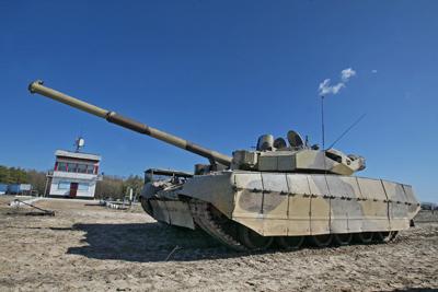 Фото Укринформ:танк