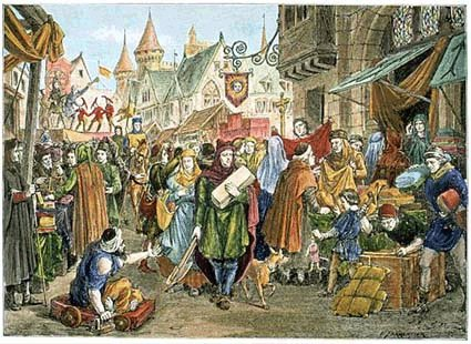Middle Ages Stock Vectors, Clipart and Illustrations