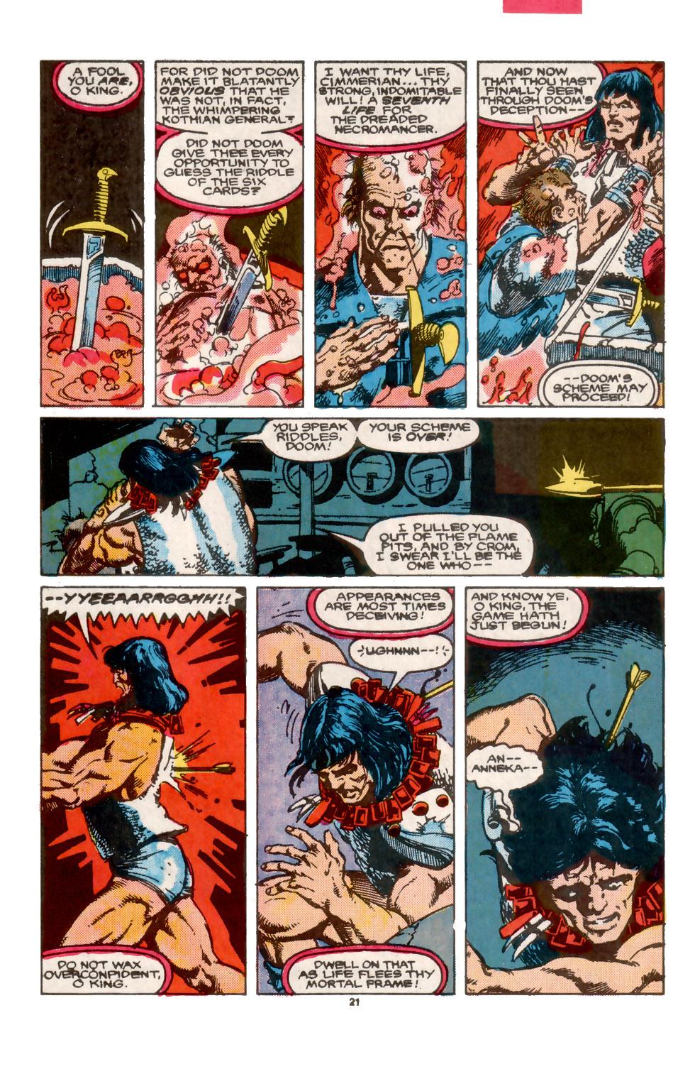 Conan the Barbarian (1970) Issue #202 #214 - English 22