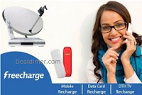 Recharge & Bill Payments Rs. 75 Cashback on Rs. 75 - Freecharge