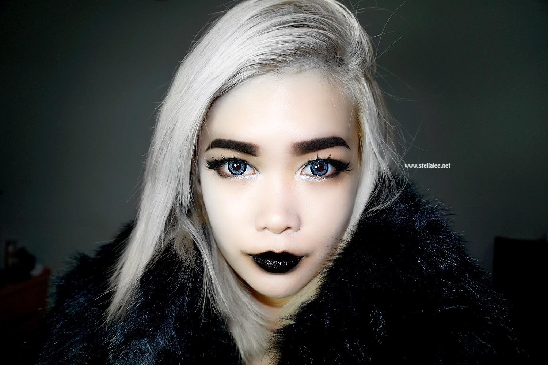 Dark Vampire Queen Make Up Tutorial | *☆ Stella Lee's Blog ...