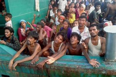 Bot Bawa Warga Rohingya Hanyut Di Perairan Thai