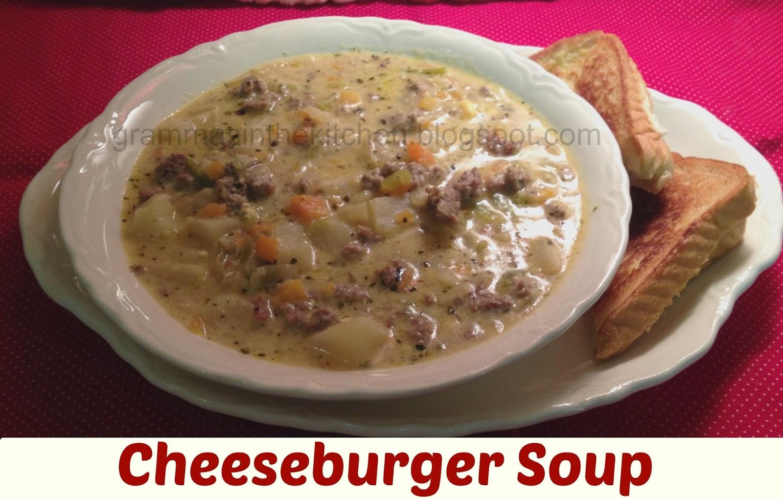 Cheeseburger Soup Recipe — Dishmaps