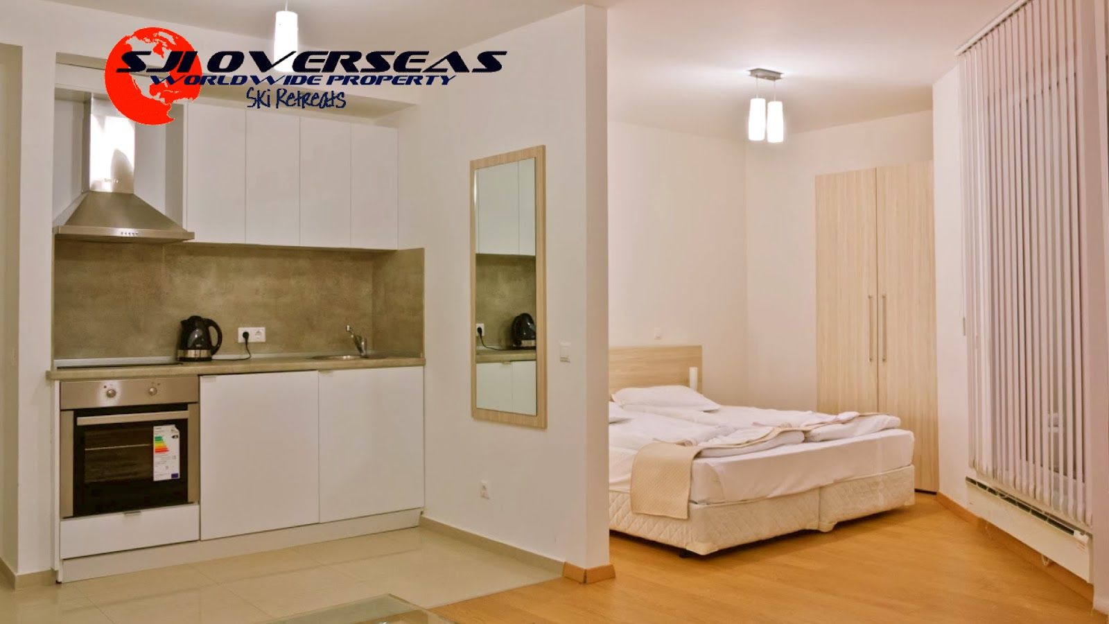 Studio Apartment Separate Sleeping Area sji ski retreats - apartments bansko: studio apartment 2/3 pax