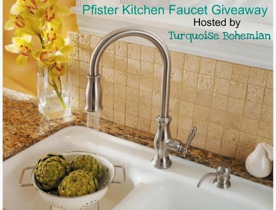 Enter to win a Pfister Kitchen Faucet Giveaway worth $300, US48, ends 7/31