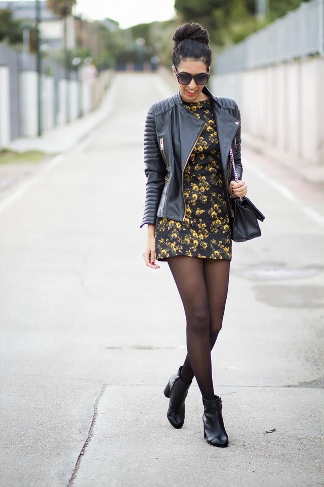 Outfit con mini vestidos