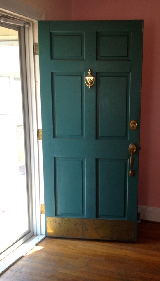 Choosing a new front door color for New front door