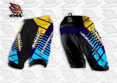 Jual Jersey Baju Pakaian Celana Sepeda, Motocross, Trail...dll - RMA Ride More Asia Jersey Sample 8