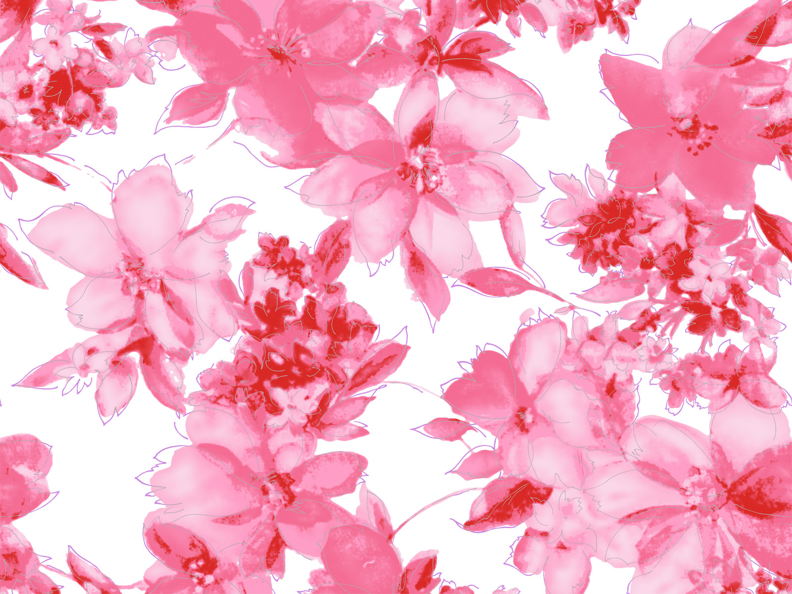 wallpaper pink flowered flower - photo #17