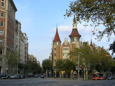 Casa de les Punxes in Barcelona