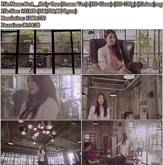 Download MV BoA (보아) - Only One (Drama Version) (HD Clean 720p)