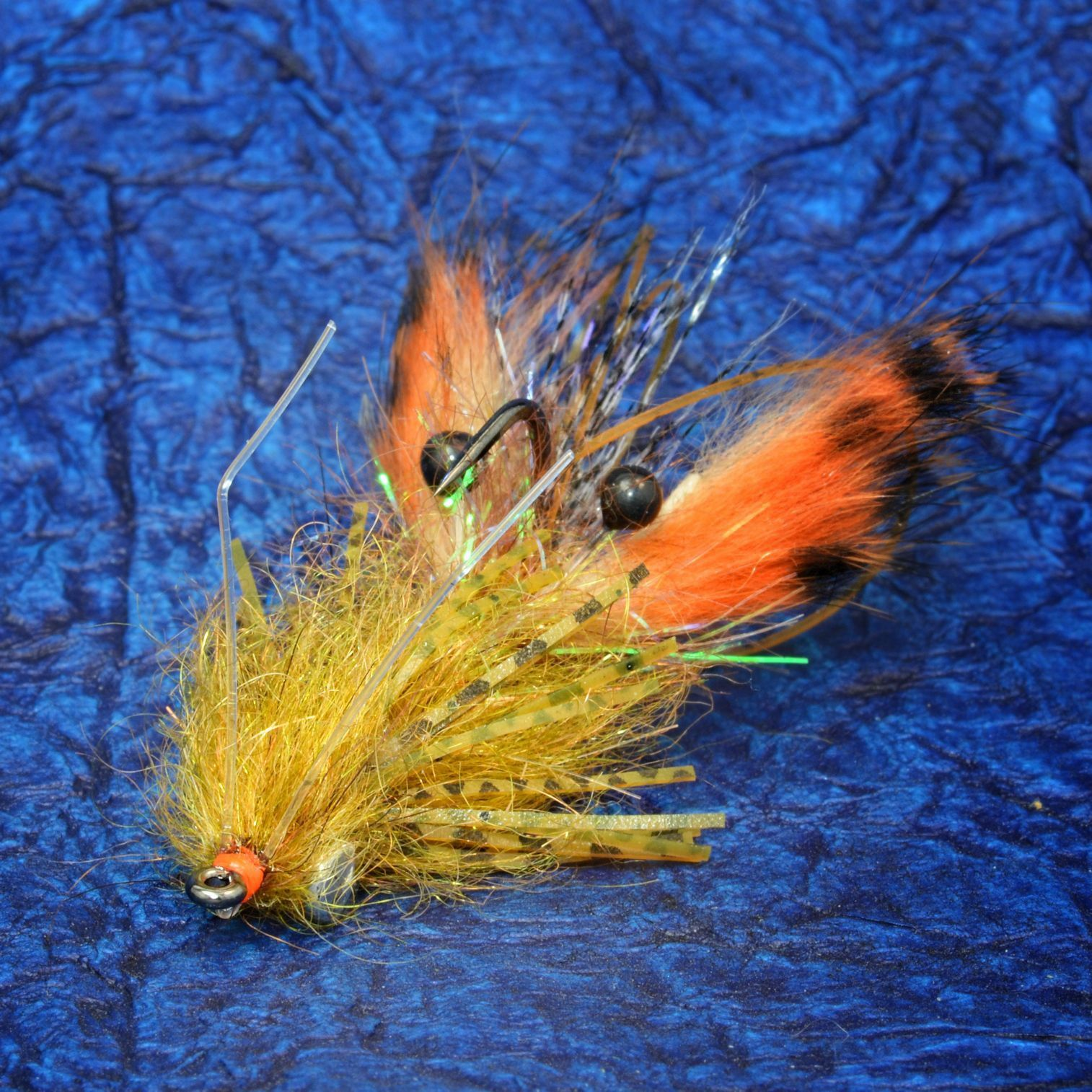 El crawcito fly fish food fly tying and fly fishing for Fly fish food