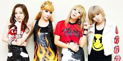 K-Pop Chart Top Posisi Pertama