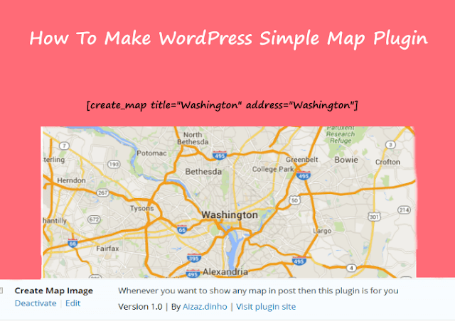 How To Make Wordpress Simple Google Map Plugin