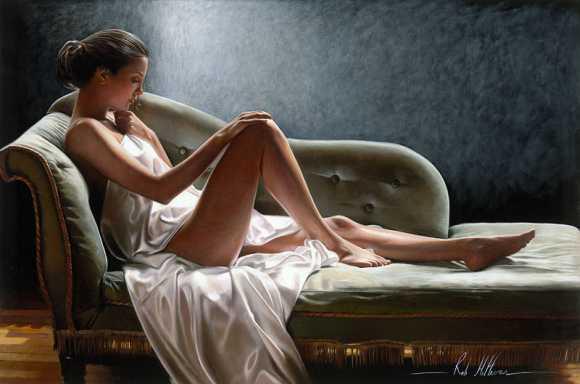 rob hefferan pinturas hiper realistas desejo luxúria paixão