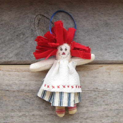 Rag doll ornaments 1