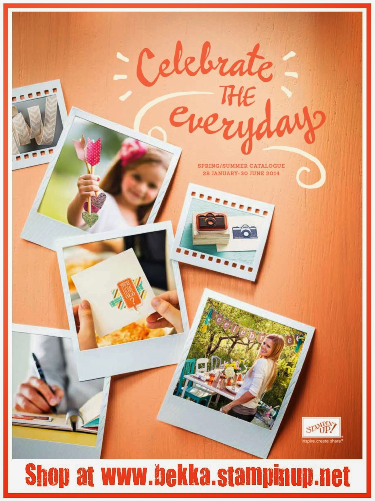 Shop the Stampin' Up! Spring Summer 2014 Catalogue at www.bekka.stampinup.net