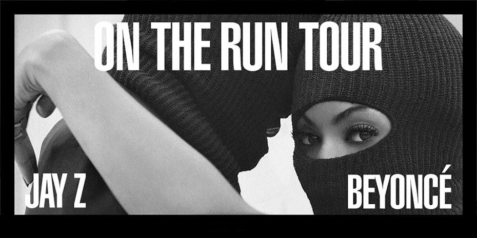 beyoncé, blog de turismo, Jay-z, On the run tour, show para animar sua noite,