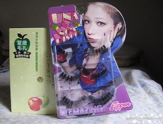 apple mask, face care, face, mask, fask mask, eyemazing, gyaru, gyaru lashes, una, shopping,
