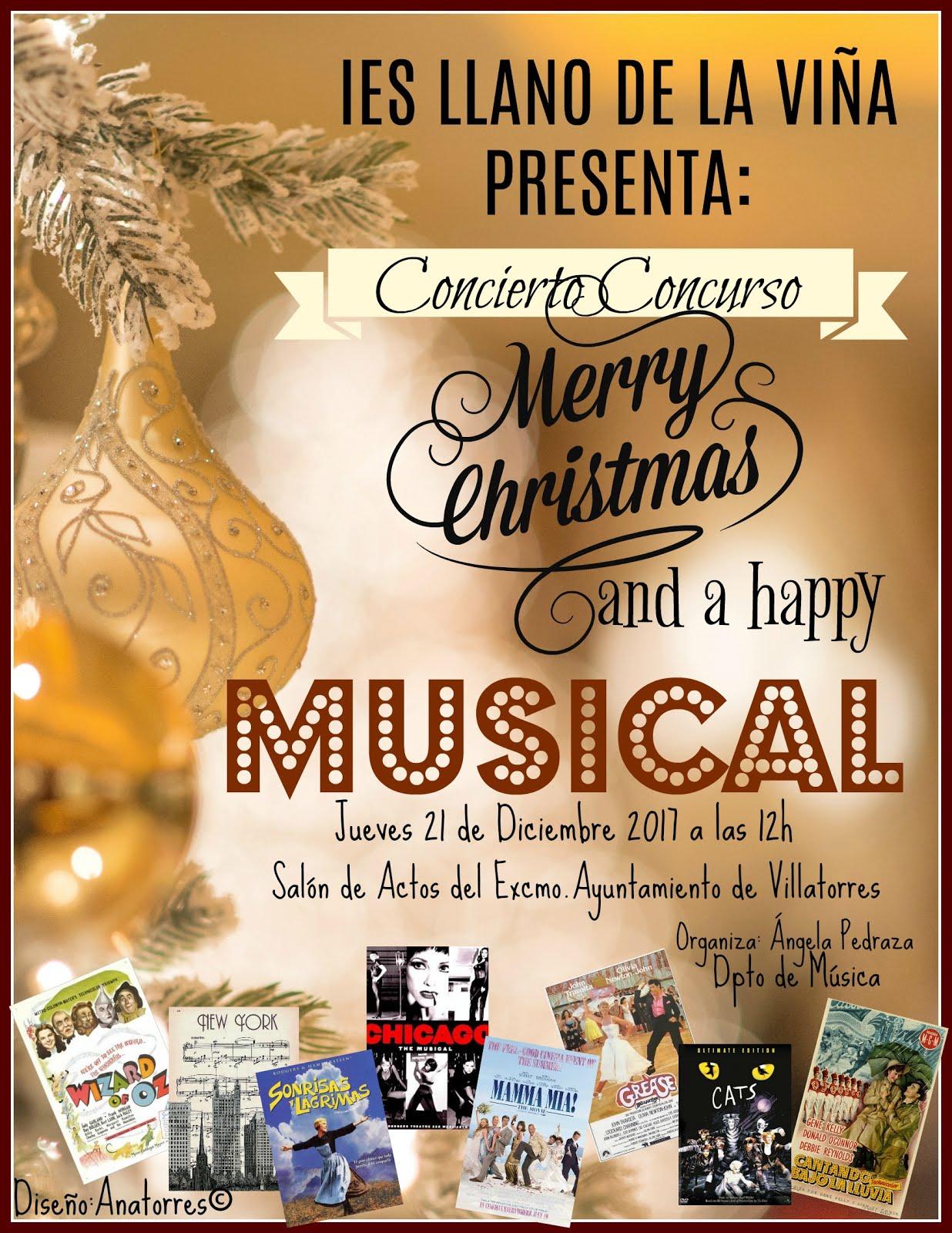CONCIERTO CONCURSO DE NAVIDAD. MUSICALES