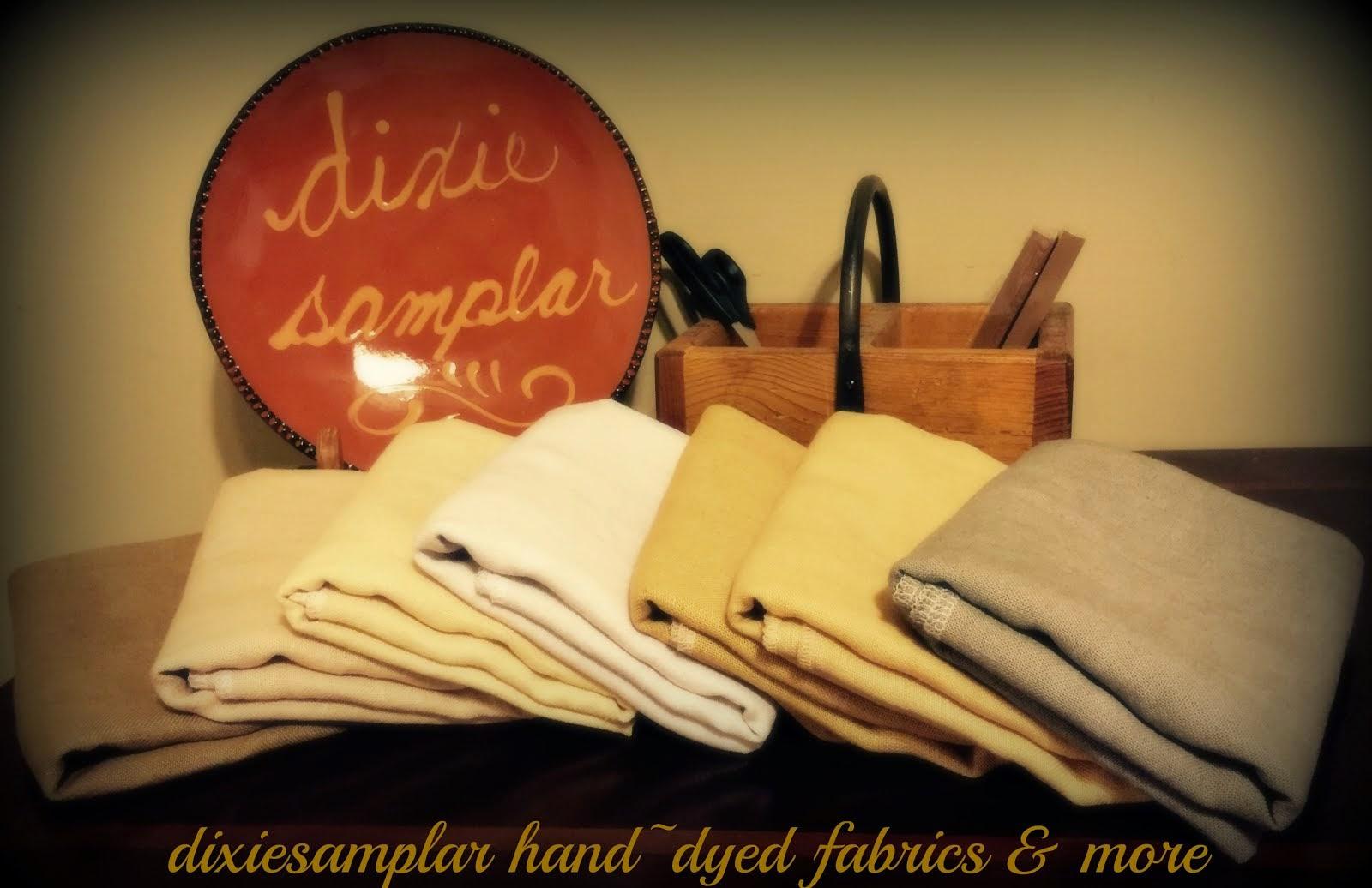 DIXIESAMPLAR HAND~DYED FABRICS & MORE