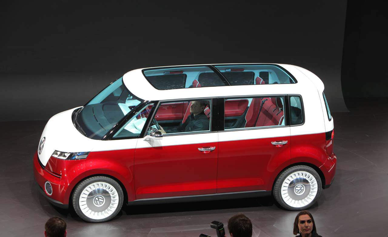 We Love Volkswagen's Past, Present And Future,: 2014 Microbus Comes