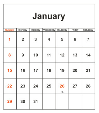 how to make a picture calendar
