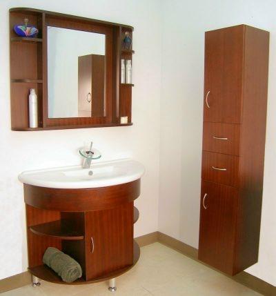 Gabinetes de ba o de madera ba os y muebles for Gabinetes para bano en madera