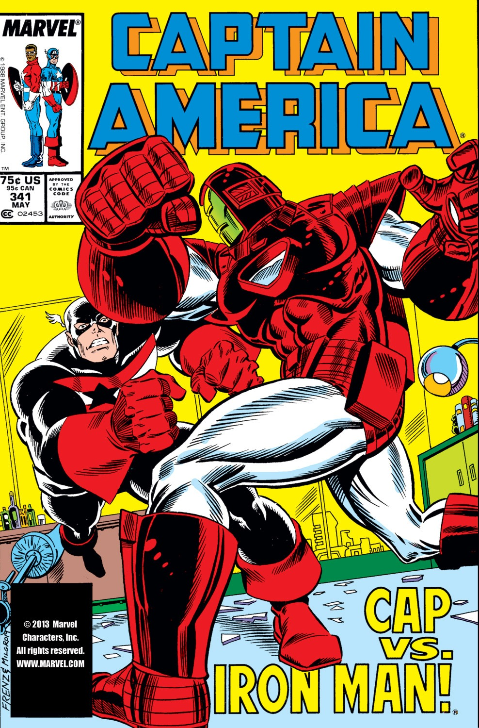 Captain America (1968) Issue #341 #271 - English 1