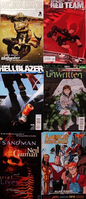 February comics / cómics de febrero
