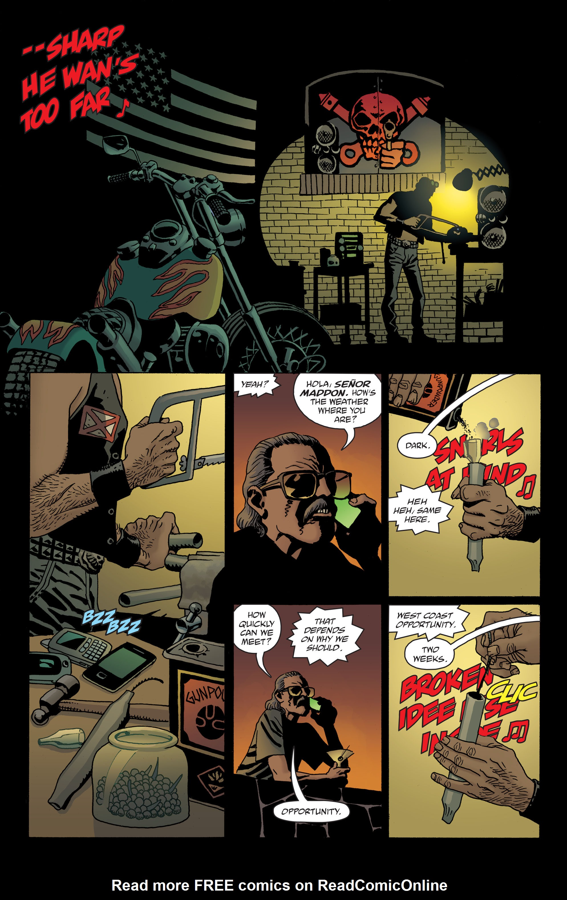 100 Bullets: Brother Lono Full Page 53
