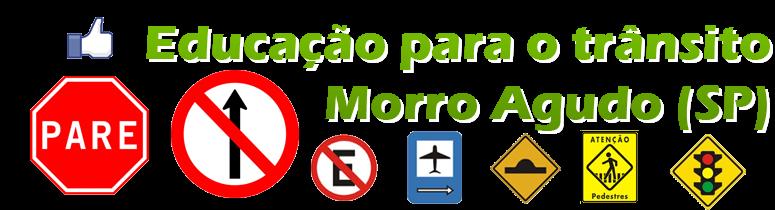 Educação para o trânsito - Morro Agudo - SP