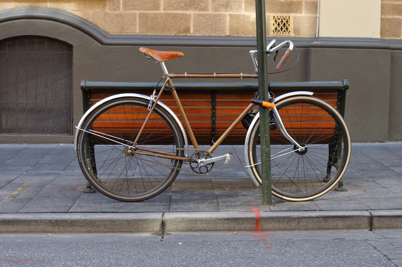 dia-compe,soma, brooks, fender, tim macauley, the biketorialist, vintage, frame, bespoke, custom