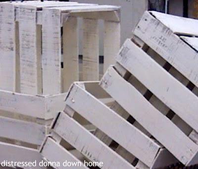 quick makeovers, white crates