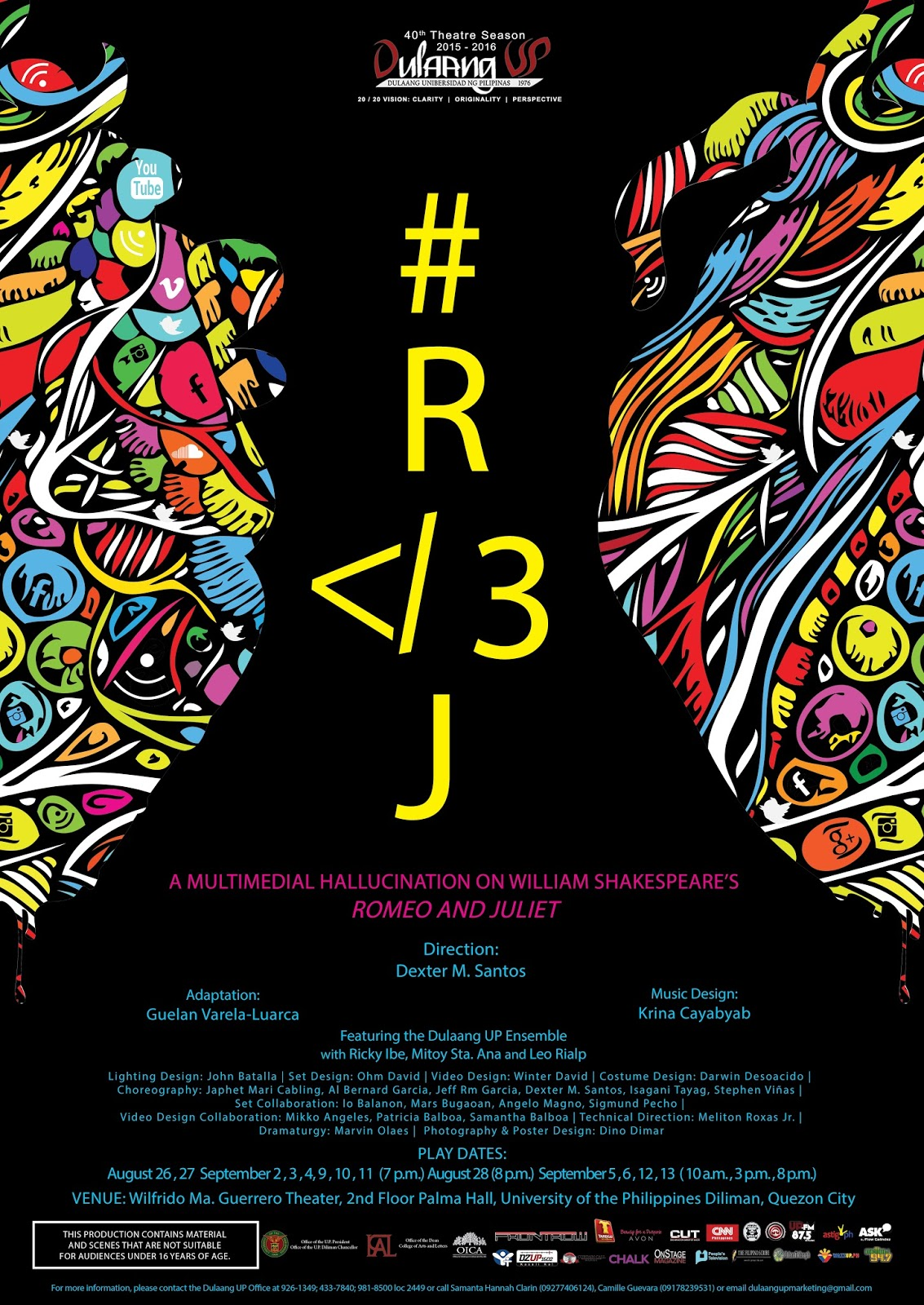 R 3J Retells The Star Crossed Lovers Narrative Transforming Verona Into A Concrete Jungle At Heart Of Metro Manila Teeming With Corruption Revolt