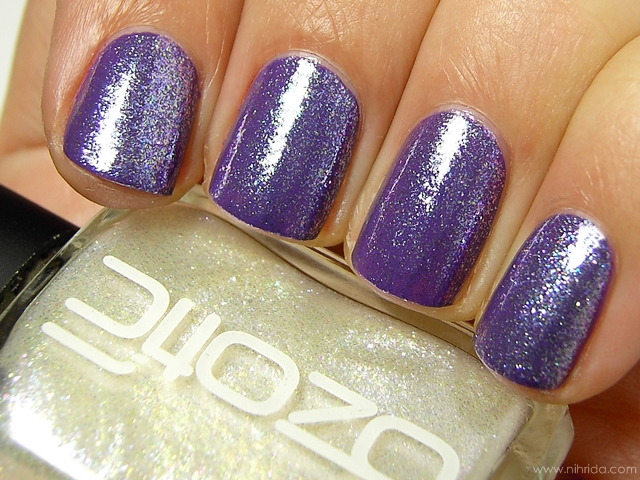 Ozotic Beam 905 over China Glaze Grape Pop