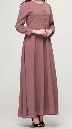 NBH0259 FATEENA MAXI DRESS (NURSING FRIENDLY)