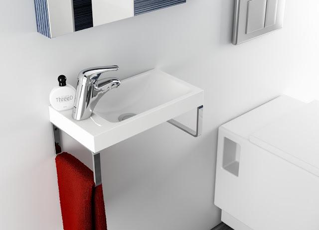 Дизайн маленькой ванной комнаты от Ravak