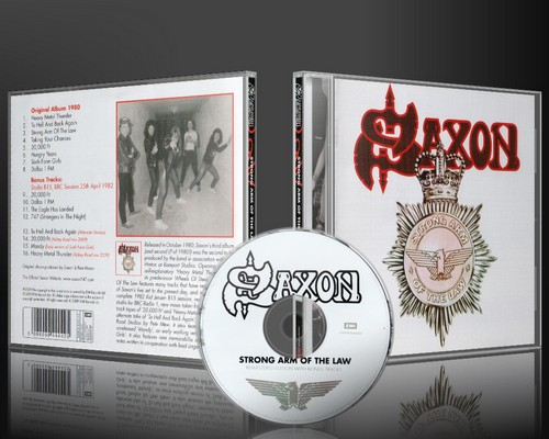 Saxon Strong Arm Of The Law 1980 Remastered Amp Japan Remastered Mail 4 Metalblogspot