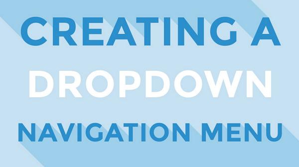 Cara Membuat Menu Dropdown di Blog Dengan Css Dan HTML