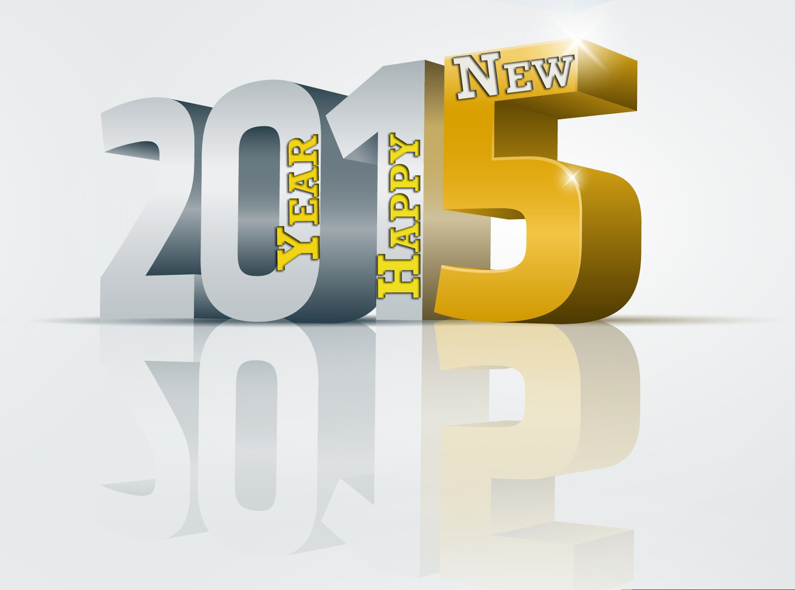 Happy New Year 2016 3D Images