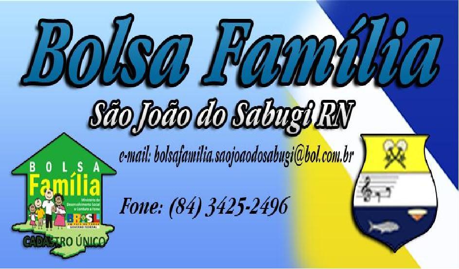Bolsa Família de São João do Sabugi-RN