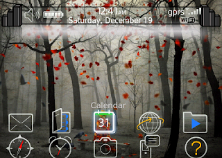 Mysterious Mysterious for BlackBerry Bold 9780 Themes