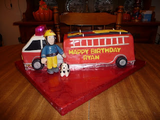 Fire Truck Birthday Cake on Icing On Top    Cakes For Every Occasion  Firetruck Birthday Cake