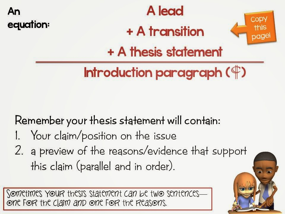 thesis statement grade 8 Test and improve your knowledge of fsa - grade 8 ela: argumentative writing with fun multiple choice exams you can take online with studycom.