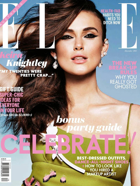 Actress, Model, @ Keira Knightley - Elle Australia