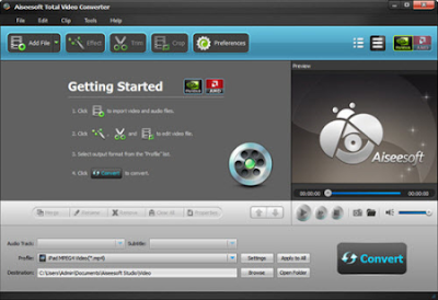 AiseeSoft Total Video Converter Free Download - Free ...